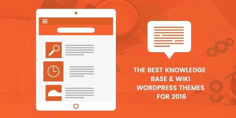 Best Knowledge base WordPress Themes