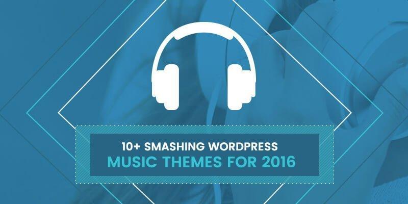 10+ Smashing WordPress Music Themes for 2016
