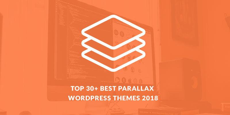 top 30 best parallax wordpress themes 2018