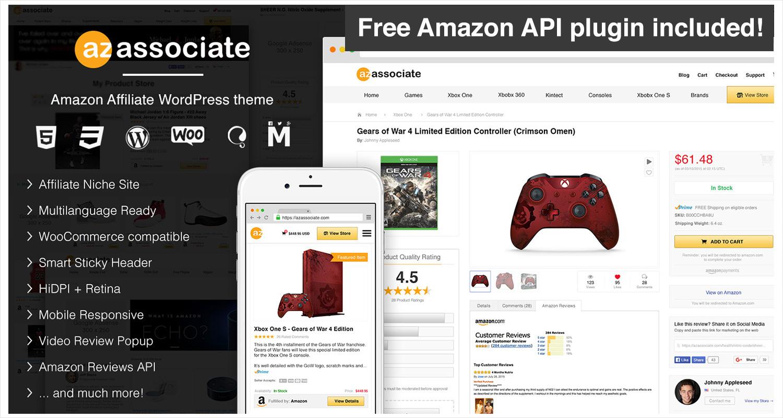 Amazon Affiliate WordPress Theme 1