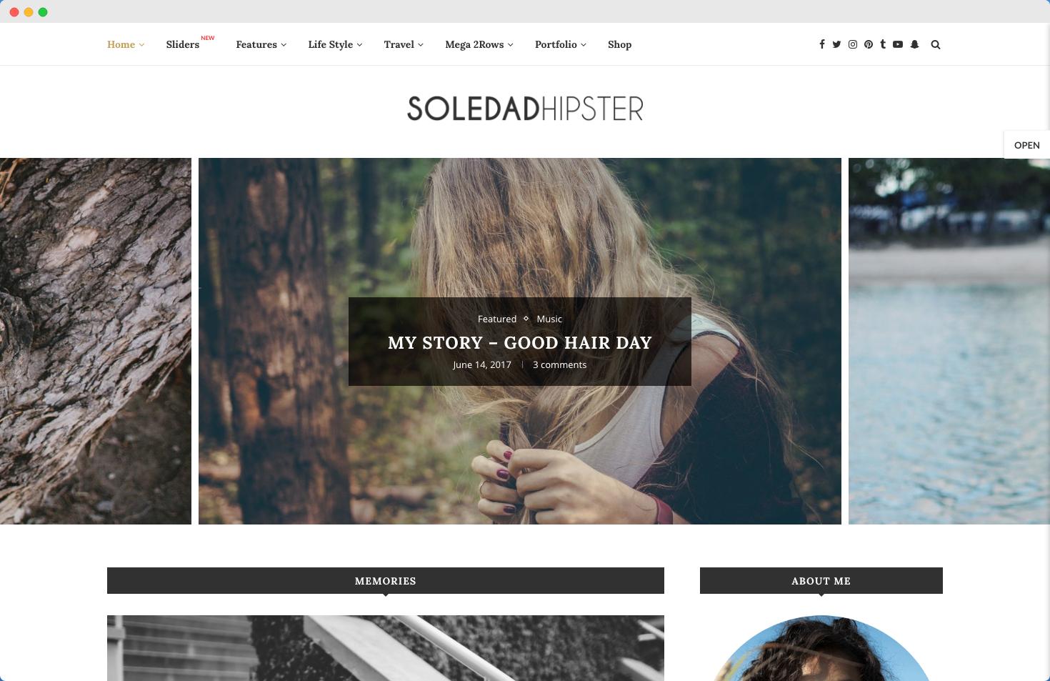 soledad theme demo