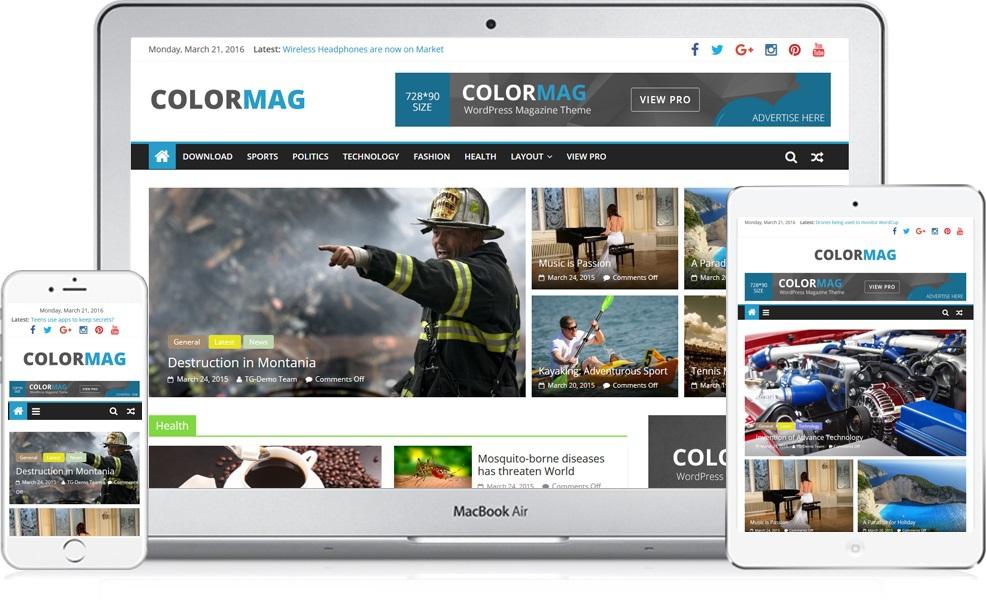 ColorMag - Magazine Style WordPress Theme 4