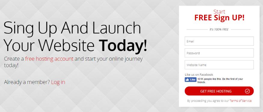 free web hosting from 000webhost