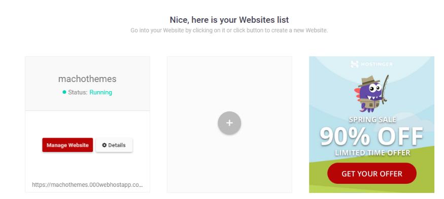 adding a website