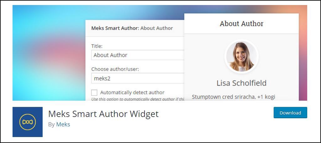 Meks Smart Author Widget 3
