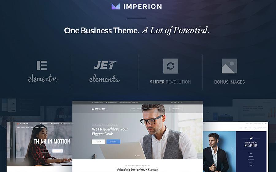 Imperion - Multipurpose Corporate WordPress Theme 1