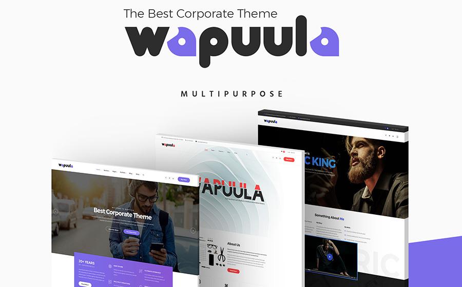 Wapuula - Multipurpose Corporate WordPress Theme 2