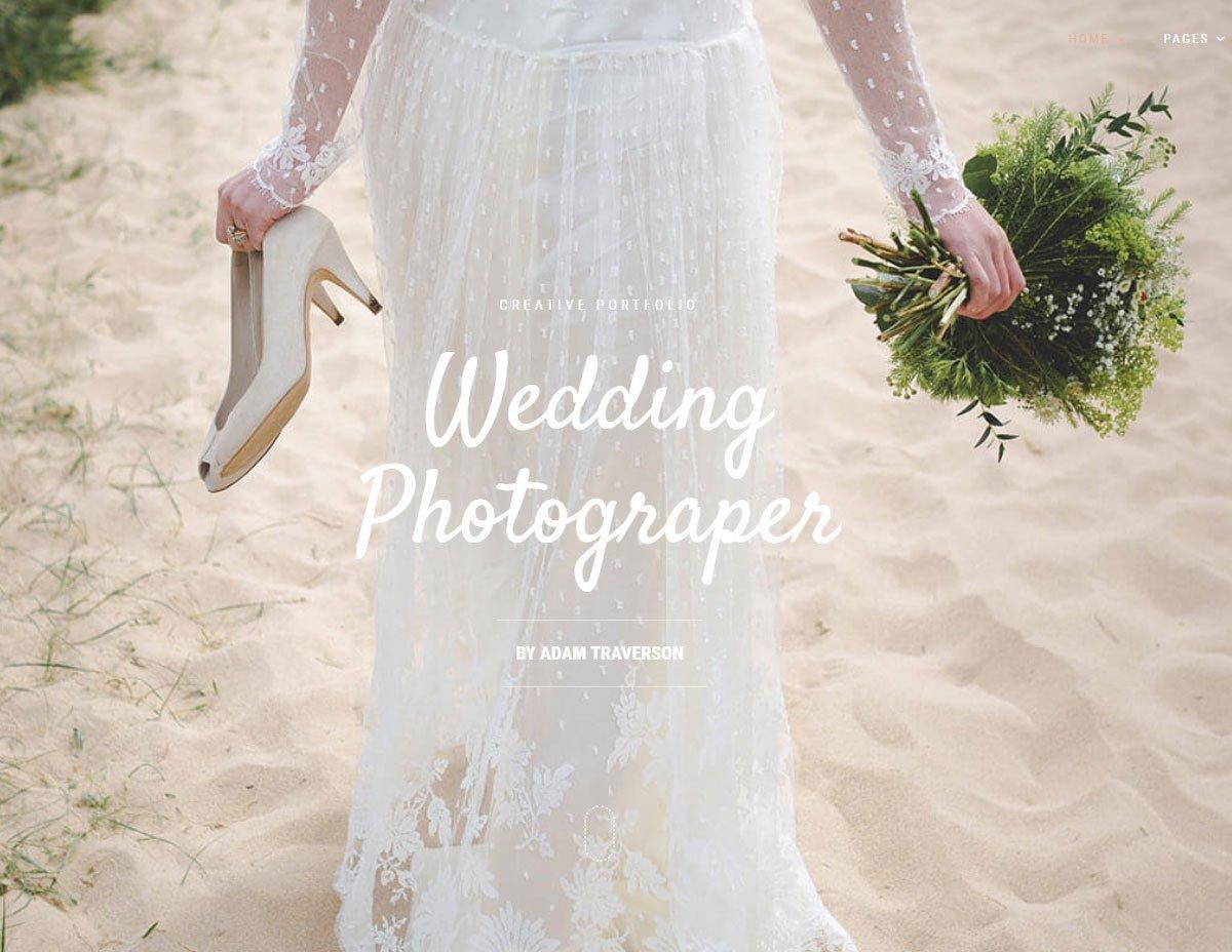 Falero - Wedding Portfolio Theme 5