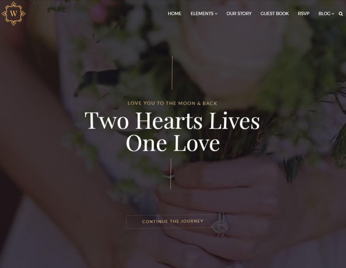 Wedding WordPress Theme 4