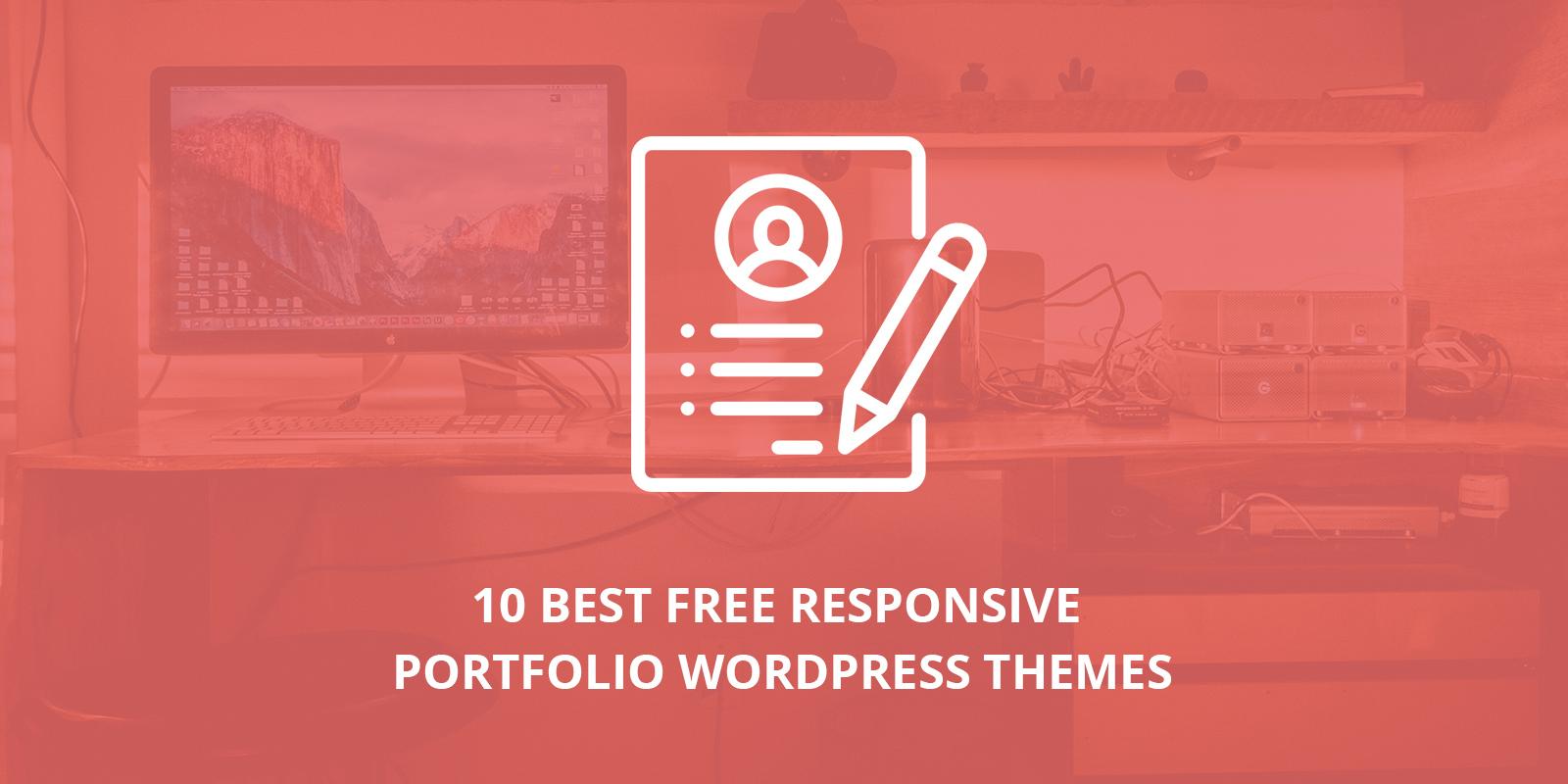10 Best Free Responsive Portfolio WordPress Themes [sigma_current_year]