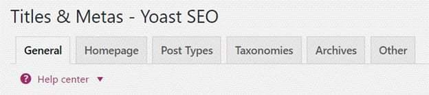 Yoast WordPress SEO Plugin Settings (The Complete Guide) 19
