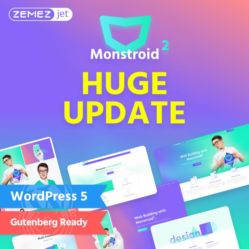Monstroid2 - Multipurpose Modular Elementor WordPress Theme 1
