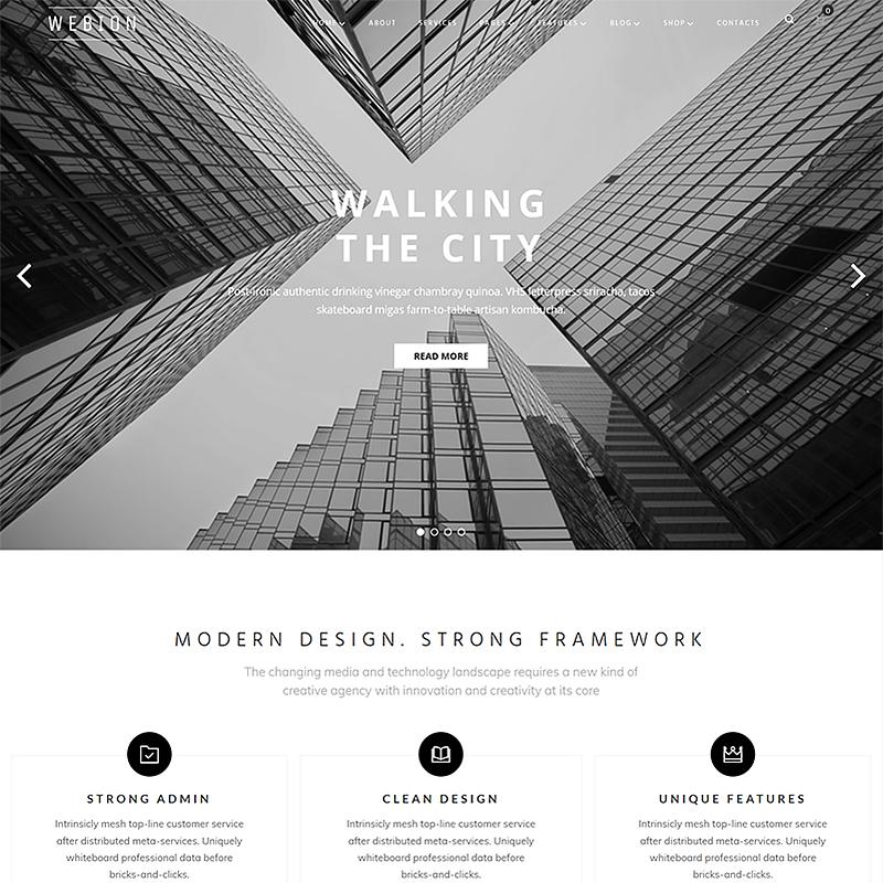Webion - Minimal Elementor Multipurpose WordPress Theme 3